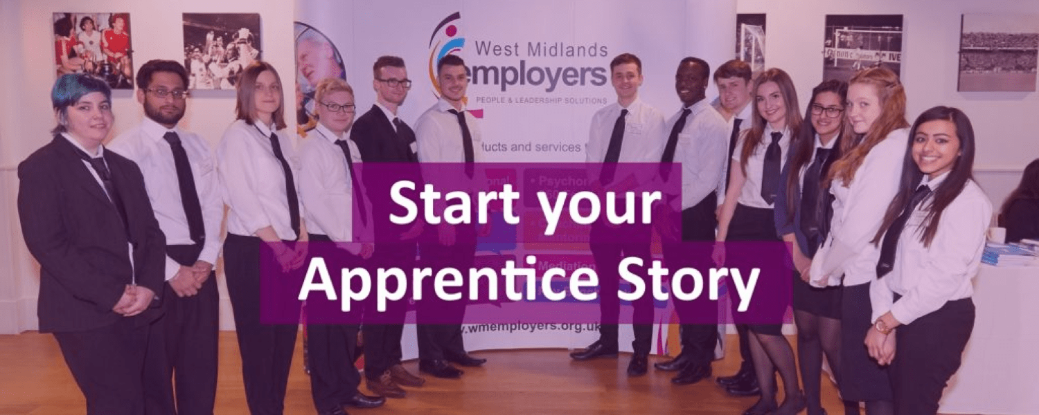 Image showing a number of apprentices lined up at an event